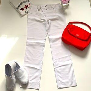 Dolce & Gabbana white pants size 4 US